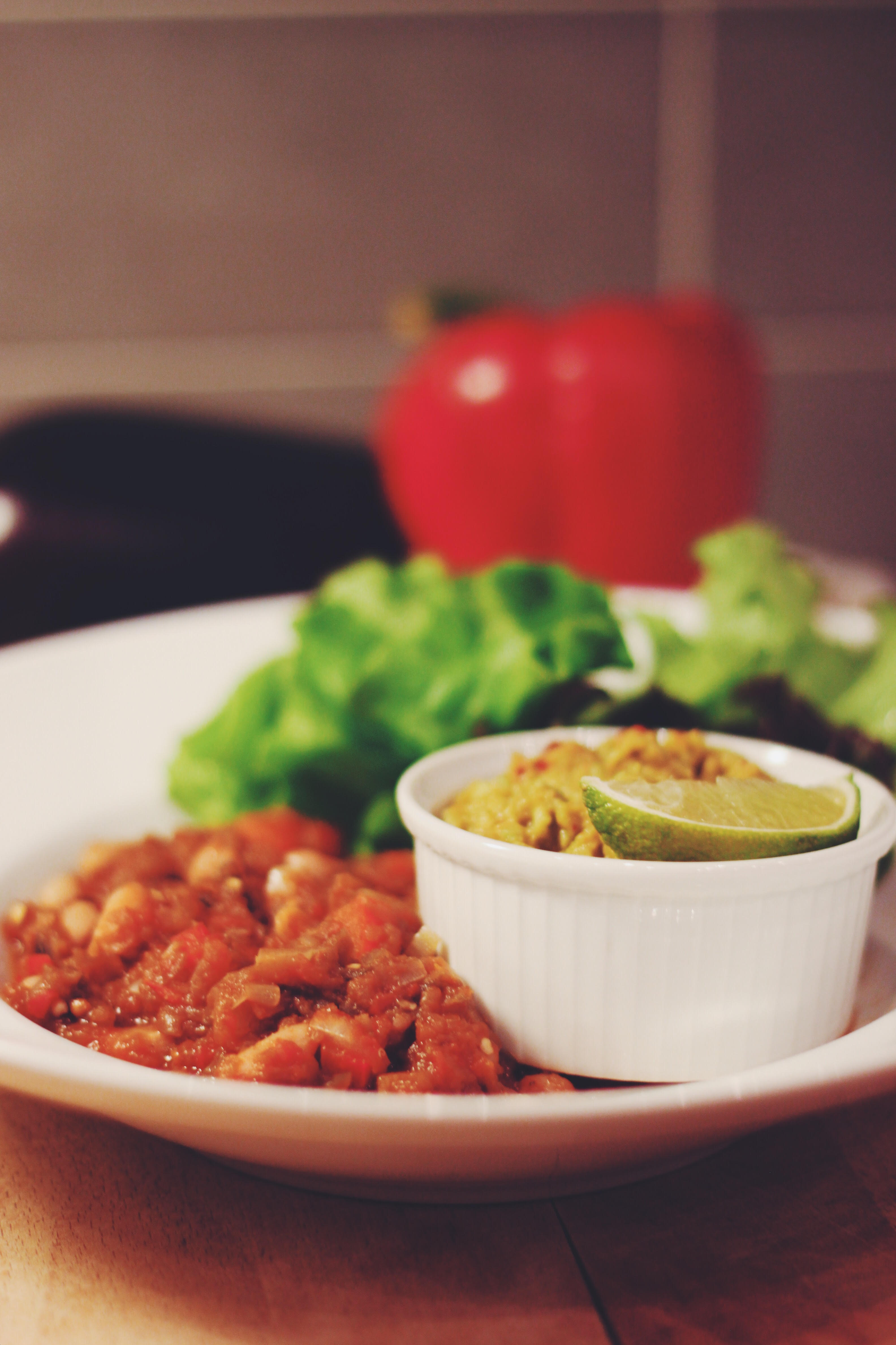 Detoxchili con aubergine
