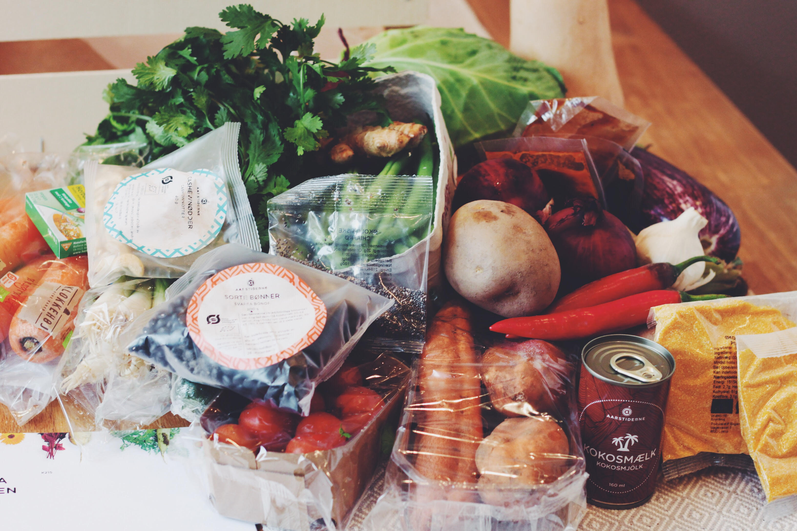 Årstidernas veganska matkasse